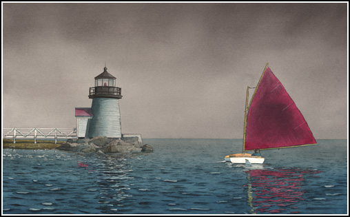 Marshall Dubock - Foggy Day Sailing